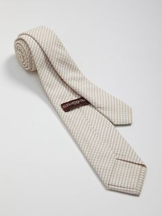 COTTON GINGHAM TIE