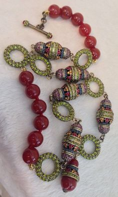 HEIDI-DAUS-MUSEUM-MADNESS-Y-NECKLACE-Red-Carneli