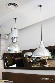 Vintage lamps Industrial