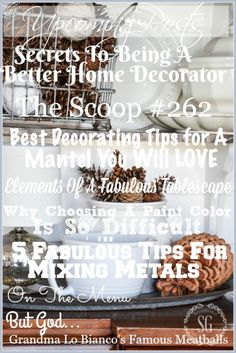 If you are visiting me, here at StoneGable, then I have a pretty good idea that you must love all things home and decorating! ME TOO! Today's post is a clearinghouse of ideas and tips and images to help you (and me) love decorating even more, do it more effortlessly and thoughtfully and become a more »