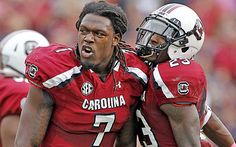 Jadeveon Clowney runs a faster 40-yard dash at 275 pounds than he did a year ago at 257. (Getty Images)