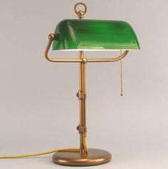Bankerlampe Banker-Lampe Banker Lampe bankers lamp grün Schreibtischlampe Tischlampe (Bonn) | kalaydo.de