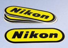 Nikon-Stickers-3x-Lots-Available