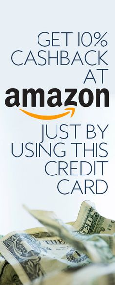 This is a simple hack that can easily save you 10% at Amazon! All you need to do is get this credit card and then you will be on your way to saving 10% at Amazon!