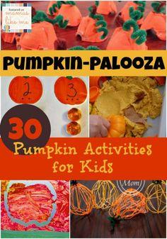 Mamas Like Me: Pumpkin-palooza - #Pumpkin Activities for #Kids