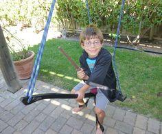 Harry Potter Broomstick for swing set