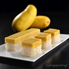 ping's pickings: Reconstructed Mango Glutinous Rice
