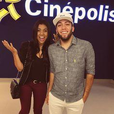 De hoje nesse lançamento maravilhoso da Cinépolis em Carapicuíba!!! Rangel e Dani