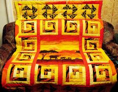 Quilt Africa by Quiltsalon on Etsy, $189.16
