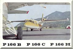Piaggio P.166 B C M Aircraft Technical Brochure Manual, ( English Language ) - Aircraft Reports - Manuals Aircraft Helicopter Engines Propellers Blueprints Publications