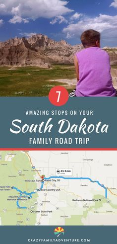 A South Dakota family road trip is a classic USA travel experience! From the beautiful scenery and great hikes at Badlands National Park and the Black Hills, to a stop at the epic Mount Rushmore, this is a bucketlist trip! Whether you are just driving thr Road Trip With Kids, Family Road Trips, Road Trip Usa, Family Travel, Family Vacations, Group Travel, Family Camping, Rv Camping, South Dakota Vacation