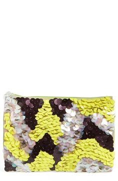 Berry Ombré Sequin Clutch available at #Nordstrom