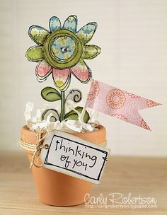 Cute idea by miss Carly! Love this for teachers, or just a random surprise in the mail...