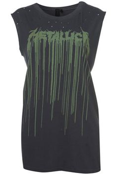 Metallica Tank by And Finally