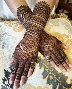 Other side of Sulekha's bridal henna. She wanted me to recreate the netting by the amazing Nashwah ❤️! Full Hand Mehndi Designs, Indian Mehndi Designs, Mehndi Designs For Girls, Mehndi Design Pictures, Wedding Mehndi Designs, Mehndi Designs For Fingers, Latest Mehndi Designs, Simple Mehndi Designs, Mehndi Images