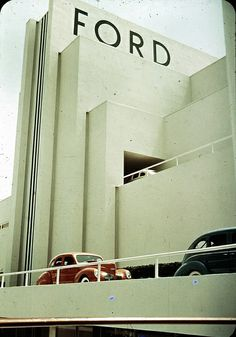 1939 New York World's Fair Ford Building