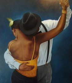 Jorge Lujan ~ Libertango - Jorge otero Lujan Tutt& @ () You are in the right place about Beauty boys Here we offer you - Art Black Love, Most Beautiful Pictures, Cool Pictures, Painting Love Couple, Arte Do Hip Hop, Belly Dancing Classes, Splash Photography, Slow Dance, Smooth Jazz