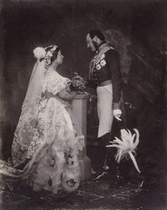 2906513.jpg - Queen Victoria and Prince Albert, Buckingham Palace, 11 May 1854 (after a Drawing Room), by Roger Fenton.    The Royal Collection © 2010, Her Majesty Queen Elizabeth II .    http://www.royal.gov.uk/MediaPrivate/Flickr/Flickrimagecreditsandcaptions.aspx