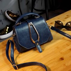 2016 Fashion Candy Color Pu New Women'S Messenger Mobile Phone Bag Handbag Casual Small Crossbody Bag