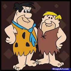 Fred Flintstone and Barney Rubble by on DeviantArt Classic Cartoon Characters, Cartoon Books, Classic Cartoons, Cartoon Pics, Cartoon Drawings, Old School Cartoons, Old Cartoons, Animated Cartoons, Flintstone Cartoon