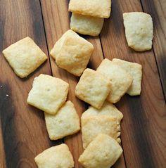 Garlic Parmesan Crackers 2