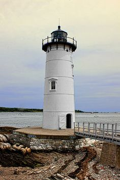 Portsmouth Harbor Lighthouse - New Castle, New Hampshire ca.1771