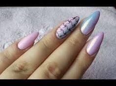 Znalezione obrazy dla zapytania paznokcie żelowe migdałki efekt syrenki