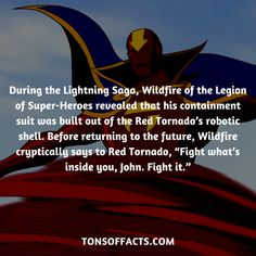 22 Interesting And Bizarre Facts About Red Tornado - Tons Of Facts Bizarre Facts, Fun Facts, Superhero Facts, Marvel Facts, Detective Comics, Dc Universe, Interesting Facts, Justice League, Trivia