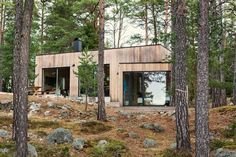 Home Decor Industrial .Home Decor Industrial Forest House, Cabins And Cottages, Cabins In The Woods, Exterior Design, Future House, Modern Architecture, Beautiful Homes, Building A House, Villa