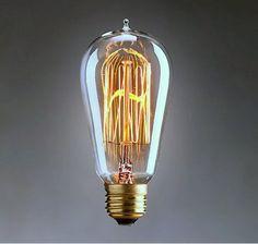 Edison Lampe Squirrel Cage Retro Antik inspiriert von Nuvarti, £14.99