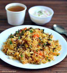 Mughlai vegetable biryani /Indian Layer biryani recipe :)