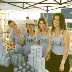 "Sandi J M on Instagram: ""Fundraiser for #Sustainable #Seafood...  New obsession - VOCO #vodka #coconutwater #sexysaturday #offthehooksm #voco #charity #seafood #festival #santamonica #beautiful #fitchicks #fitness #amazing #funtimes #hotties #obsessed"""