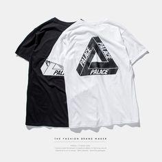 5847db56ffe7 2016 palace skateboards classic triangle print mens hip hop summer noah  clothing gosha rubchinskiy cotton swag
