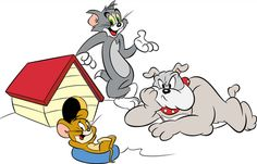 Tom and Jerry cartoon, yah of course you know it right. Tom & Jerry is an American animated series of short films which was made in 1940 by William Hanna and Joseph Barbera. This movie focuses on two main characters is a cat and mouse, named Tom and Jerry.