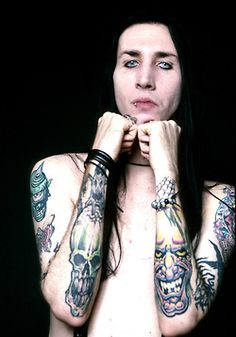 Marilyn Manson This man is so delicious
