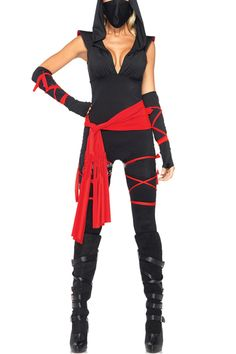 Killer Gladiator Games Female Ninja Cosplay Costumes
