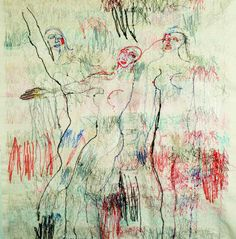 Alice Kettle's work...threads not paint