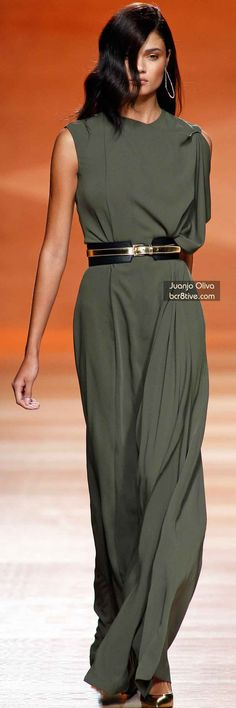 The Best Gowns of Fall 2014 Fashion Week International: Juano Oliva FW 2014 #MadridFashionWeek