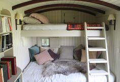 Shepherds hut by The Yorkshire Hut Company