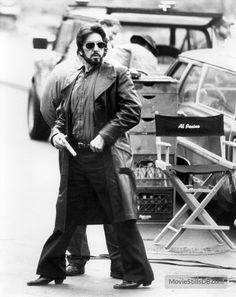 Carlito's Way - Behind the scenes photo of Al Pacino