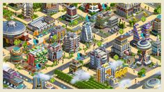 2020: My Country // 2020: My Country is the follow-up to the smash-hit, city-building strategy game My Country. In this new game, you build and manage a futuristic metropolis from a chain of island cities in a deeper, more-engrossing sequel that expands on everything that made the original game great! In the sequel, players manage the lives of their happy, productive citizens as they make their way across the city in flying cars.