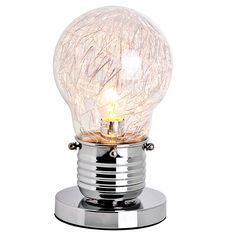 Edison Mini Modern Art Bulb Table Lamp illuminating gift ideas with free delivery direct from www.serendipityhomeinteriors.com