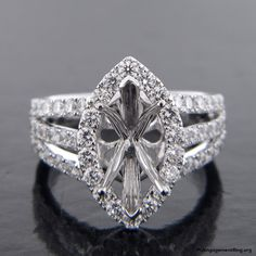 modern diamond engagement ring - My Engagement Ring
