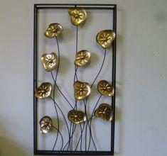 Wanddecoratie metaal lyssa 1