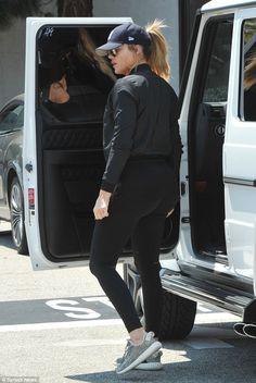 Khloe Kardashian shops in Beverly Hills amid rumored romance woes #dailymail
