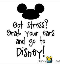 Got Stress? Go to Disney