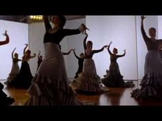 Carlos Saura - Flamenco .Stunning beauty of a woman... We dance with a music of wisdom guided by  life itself,I´d say :)