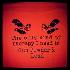 Gun powder and lead vinyl graphic tee by CountrySweethearts