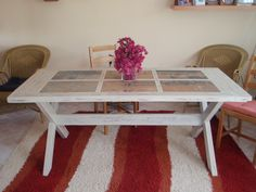 an old door = a new table