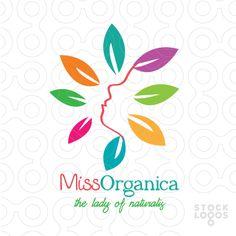 Exclusive Customizable Logo For Sale: Miss Organica   StockLogos.com